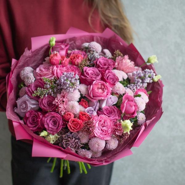 Букет Малика с розами